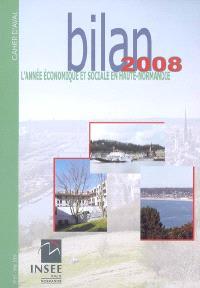 L'année économique et sociale en Haute-Normandie, bilan 2008