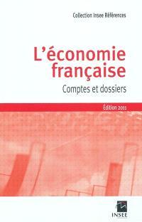 L'économie française : comptes et dossiers : rapport sur les comptes de la Nation 2010