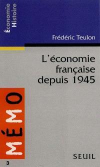 L'économie française depuis 1945
