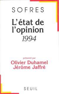 L'Etat de l'opinion : 1994