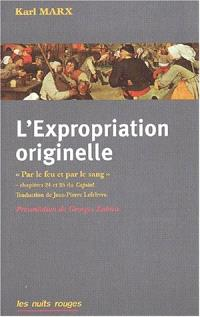 L'expropriation originelle
