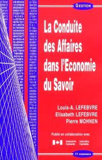 La conduite des affaires dans l'économie du savoir