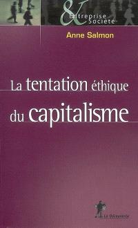 La tentation éthique du capitalisme