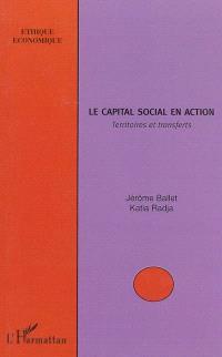 Le capital social en action : territoires et transferts