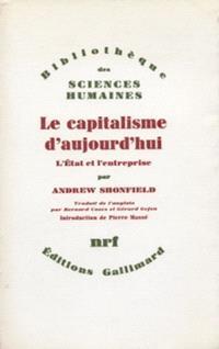 Le Capitalisme d'aujourd'hui : l'état et l'entreprise