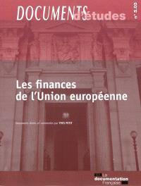 Les finances de l'Union européenne