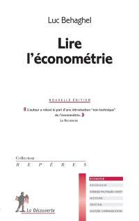Lire l'économétrie