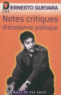 Notes critiques d'économie politique