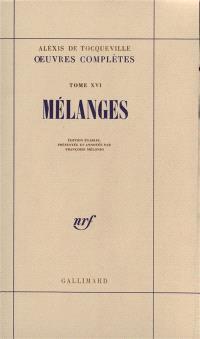 Oeuvres complètes. Volume 5, Mélanges