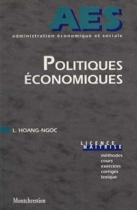 Politiques économiques