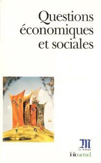 Questions économiques et sociales