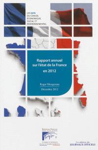 Rapport annuel sur l'état de la France en 2012