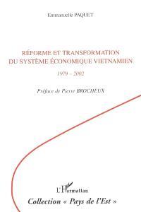 Réforme et transformation du système économique vietnamien : 1979-2002