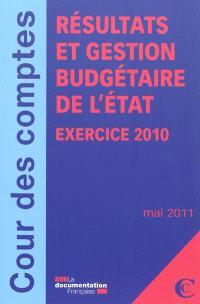 Résultats et gestion budgétaire de l'Etat : exercice 2011 : mai 2011