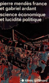 Science économique et lucidité politique