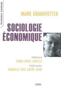 Sociologie économique
