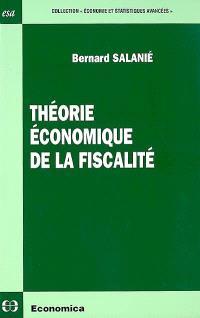 Théorie économique de la fiscalité