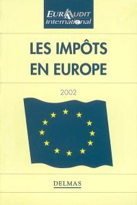 Les impôts en Europe 2002