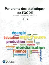 Panorama des statistiques de l'OCDE 2014 : économie, environnement et société