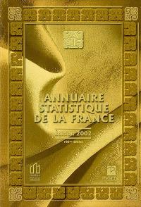 Annuaire statistique de la France 2002 : résultats de 2000