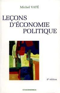 Leçons d'économie politique