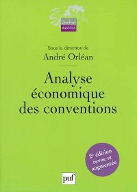 Analyse économique des conventions
