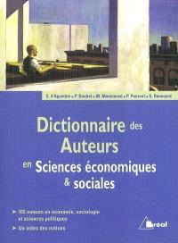 Dictionnaire des auteurs en sciences économiques et sociales