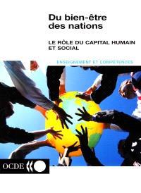 Du bien-être des nations : le rôle du capital humain et social