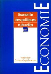 Economie des politiques culturelles