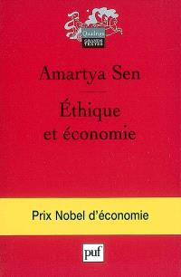 Ethique et économie : et autres essais