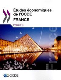 Etudes économiques de l'OCDE : France, mars 2015