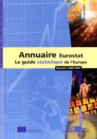 Eurostat, annuaire 2001 : le guide statistique de l'Europe, données 1989-1999