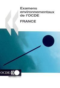 France : examens environnementaux de l'OCDE