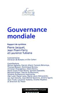 Gouvernance mondiale : rapport de synthèse