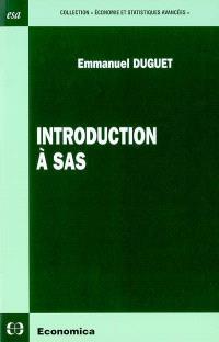 Introduction à SAS