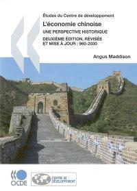 L'économie chinoise : une perspective historique, 960-2030