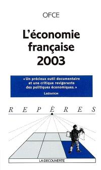 L'économie française 2003