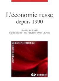 L'économie russe depuis 1990