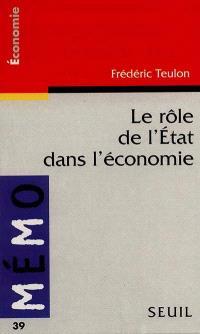 Le rôle de l'Etat dans l'économie