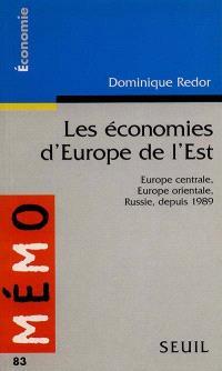 Les économies d'Europe de l'Est : Europe centrale, Europe orientale, Russie depuis 1989
