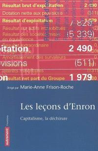 Les leçons d'Enron : capitalisme, la déchirure