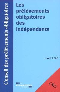 Les prélèvements obligatoires des indépendants