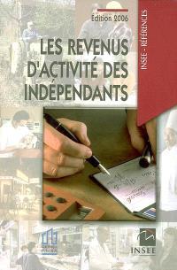 Les revenus d'activité des indépendants