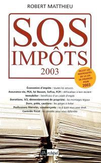 SOS impôts 2003
