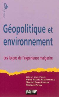 Géopolitique et environnement : les leçons de l'expérience malgache