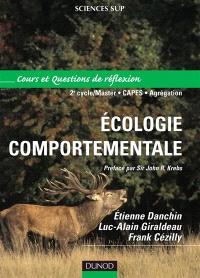 Ecologie comportementale : cours et questions de réflexion