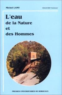 L'eau de la nature et des hommes