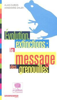 Evolution, extinctions : le message des grenouilles