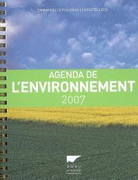 Agenda de l'environnement 2007