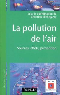 La pollution de l'air : sources, effets, prévention
